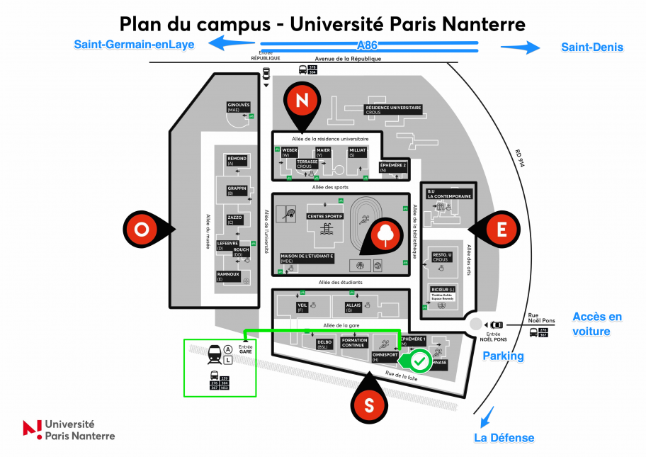 Acces-Nanterre-Universite